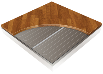 Floating Wood Floor Heating