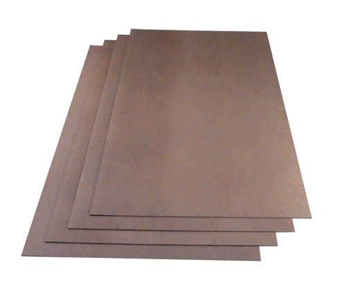 ThermoSoft fiberboard for underfloor heating installation