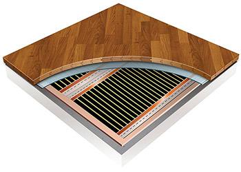 Installing Radiant Heating Under Laminate And Wood