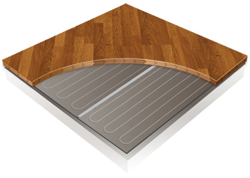 Heated Wood Floor Amp Laminate Floor Heating Thermosoft