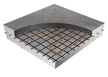 Shop Thermoslab 120v And 240v Mats For Concrete Slab