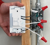 ThermoFloor floor heating thermostat connection