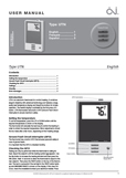 OJ UTN-4991 Thermostats document preview image