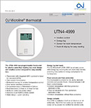 OJ UTN4-4999 Thermostats document preview image