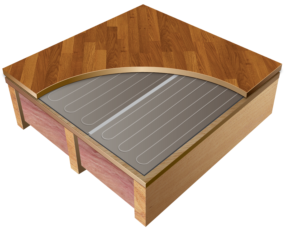 Thermofloor Laminate Electric Radiant Heating System